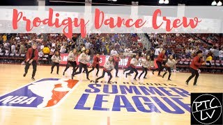 Prodigy Dance Crew performs at NBA Summer League 2019 | @prodigydancelv