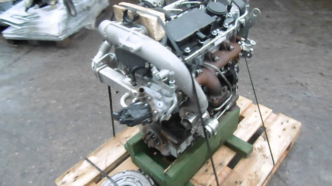 FIAT DUCATO 23 JTD ENGINE REMOVED FROM 2015 VAN  CODE F1AE3481D  YouTube