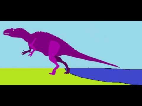 Proceratosaurus Vs Baby Acrocanthosaurus (Read Description)