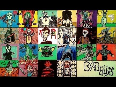 Top Best Horror Movie villains online Joker Hannibal Beetlejuice Darth Vader Psycho