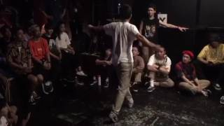 神戸deバトル -FREESTYLE 1on1 BATTLE- 2017.7.7FRI@KINGSX ▽WINNER RIC...