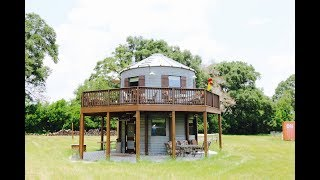 Grain Silo Converted Into Beautiful Tiny House