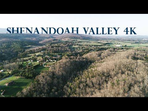 Фото Shenandoah Valley from a Drone 4K Cinematic - - DJI Phantom 4 Pro V2.0