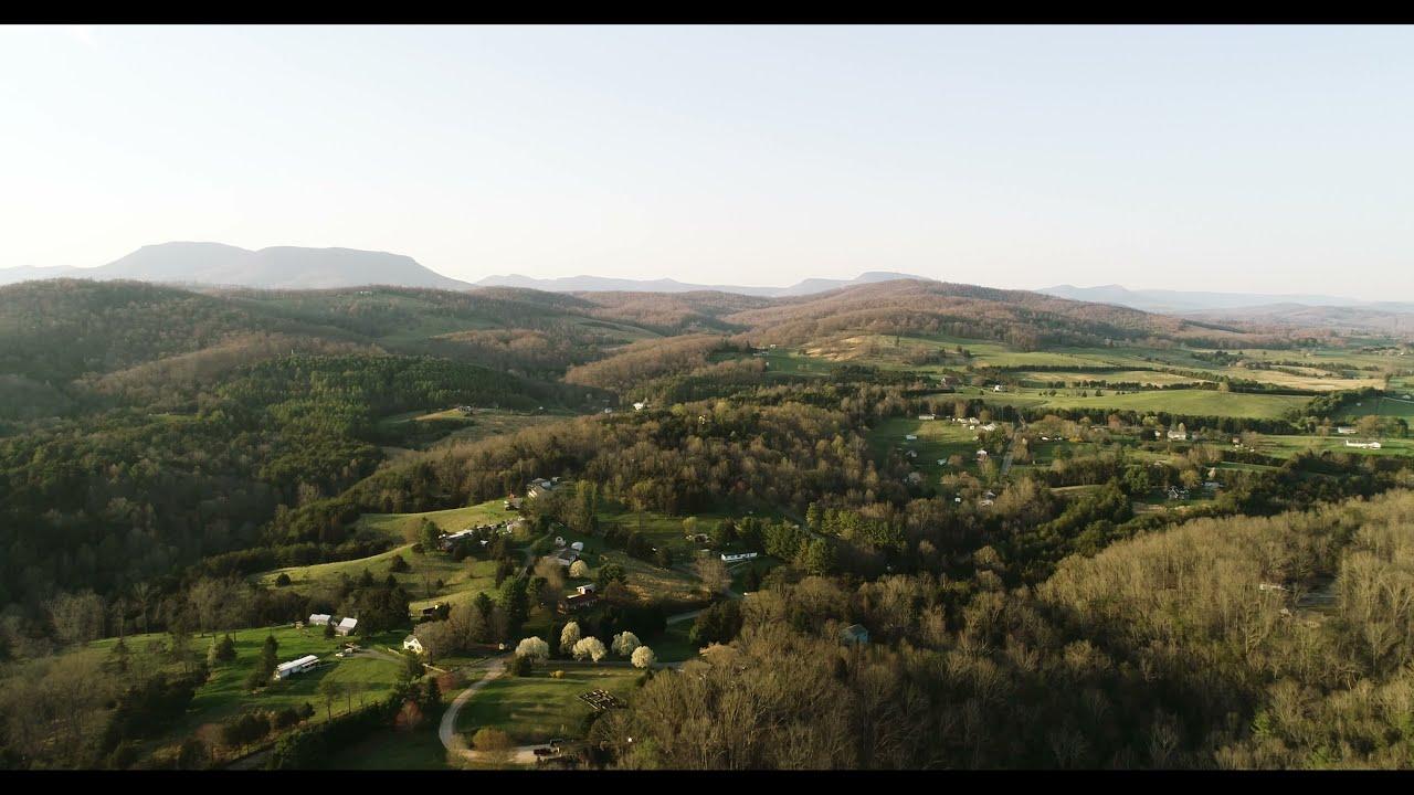 Shenandoah Valley from a Drone 4K Cinematic - - DJI Phantom 4 Pro V2.0 картинки