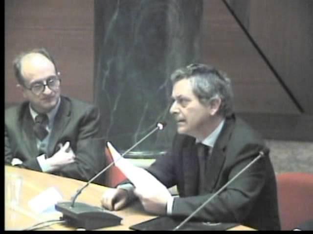 Come parla il Parlamento - Prof. Giovanardi