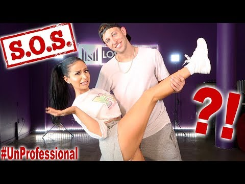 PROFESSIONAL DANCER TEACHES ME TO DANCE!