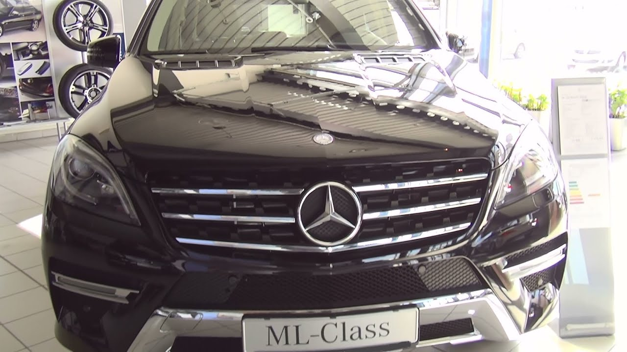 Mercedes-Benz ML 250 BlueTEC 4Matic Exterior And Interior