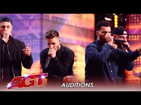 Berywam: French Acapella Group and World Beatboxing Champions SLAY! | America's Got Talent 2019
