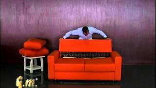 ≥ Раскладной диван-кровать с матрасом седафлекс-американка Италия, ортопедический Херсон купить(http://mobili.ua Раскладывание дивана ZURIGO от Итальянской мебельной фабрики GM ITALIA Этот диван кровать предназначен..., 2012-04-04T12:36:03.000Z)
