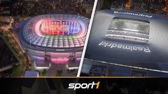 Fußball-Tempel der Zukunft: So futuristisch werden Europas Stadien | SPORT1
