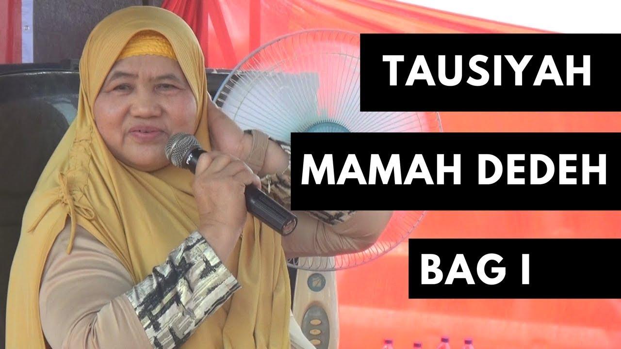 Ceramah Mamah Dedeh Heboh Dihadiri Ribuan Jama Ah Youtube