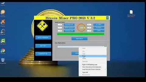 Bitcoin Miner PRO 2018 V 3 2   Bitcoin Generator