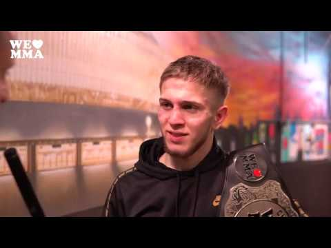 Post Fight Interview: Islam Djabrailov Nach Bantamweight-Titelgewinn Bei WE LOVE MMA 51