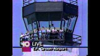 WJAR | June 13, 1988 | First British Airways Concorde Landing in Rhode Island