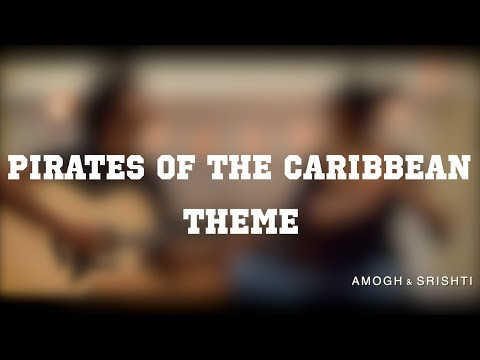 Pirates of the Caribbean Theme (Indian Version) | Percussive Guitar and Bamboo Flute