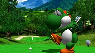Mario Golf: Toadstool Tour - Yoshi Gameplay on Dolphin Emulator (1080p / Wide-screen)