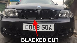 Installing BMW M2 Kidney Grilles On A 1 series E88 & E82