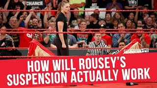 How Will Ronda Rousey's Suspension Actually Work