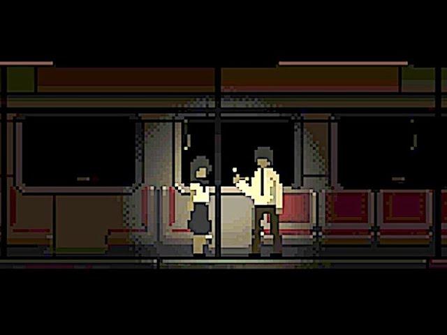 Last Train Home Creepy Retro 2d Pixel Art Horror Game Set On A Mysterious Midnight Train Youtube