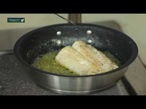 Chef Anirudh Amin Cooking Quality NZ's Orange Roughy