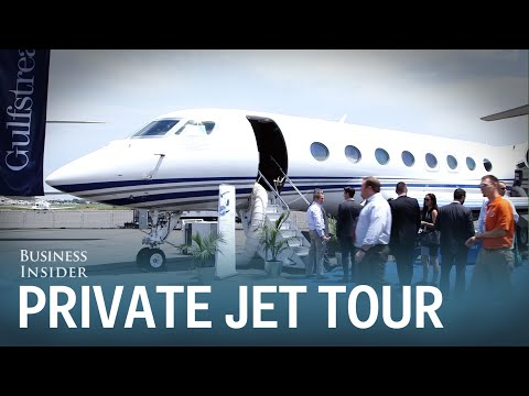 Tour of the $66.5M Gulfstream GS650ER jet