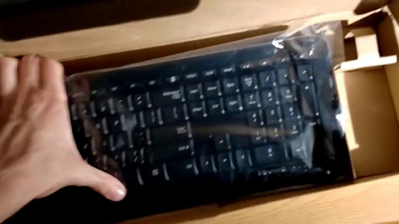 Wireless Desktop 850 Keyboard and Mouse Black Microsoft