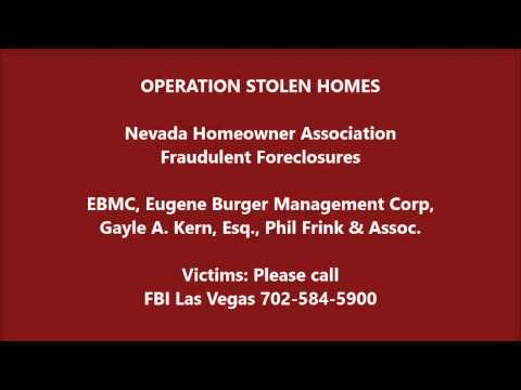 OPERATION STOLEN HOMES | Do Not Buy in Nevada | HOAs STEAL Homes | No Law Enforcement