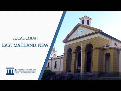 East Maitland Local Court | Go To Court Lawyers I East Maitland, NSW