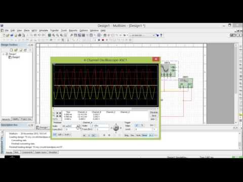 simulating low pass filter in multisim  YouTube