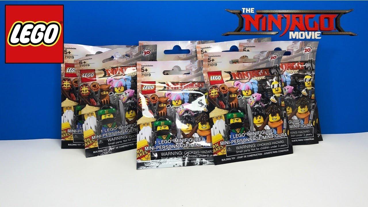 Lego The Ninjago Movie Minifigure Blind Bag 71019 NEW x 5