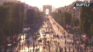 Les Bleus in Paris: New World Cup Champions celebrate victory