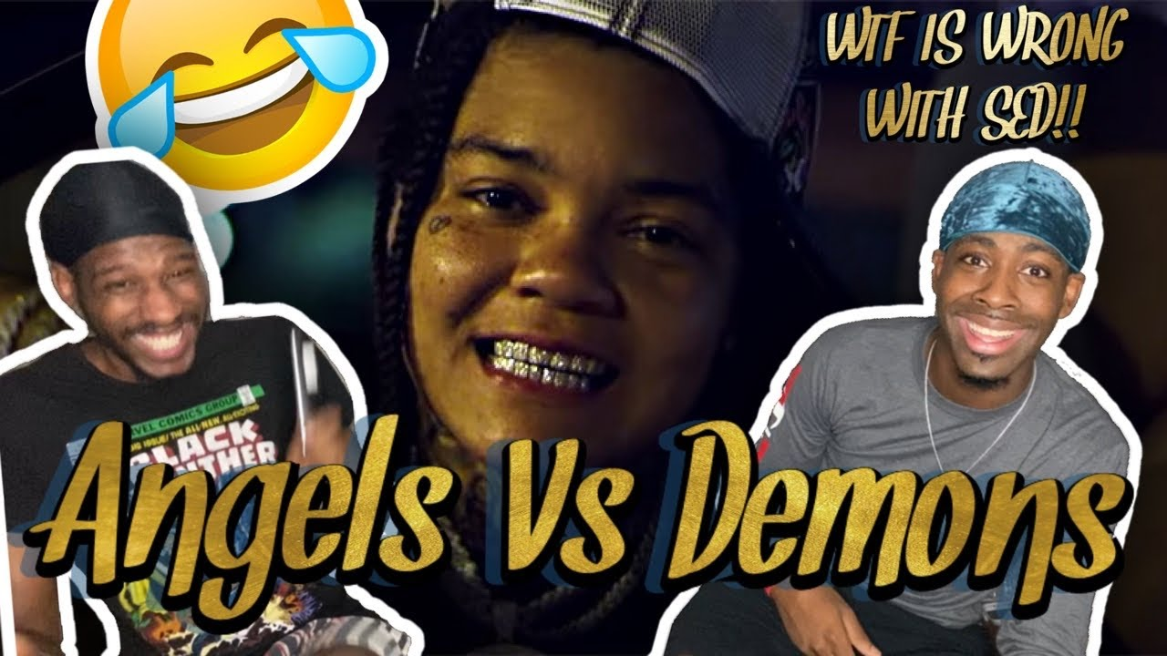 YOUNG MA!!!!!!! Angels vs Demons (Official Music Video) (FUNNY REACTION)