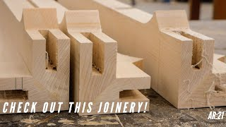 Building A Dining Table: Fabricating the joinery and profiles