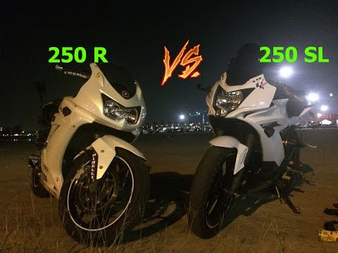Ninja 250 R vs. Ninja 250 SL