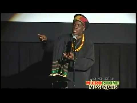 Mutabaruka s views on Faith and Religion medium