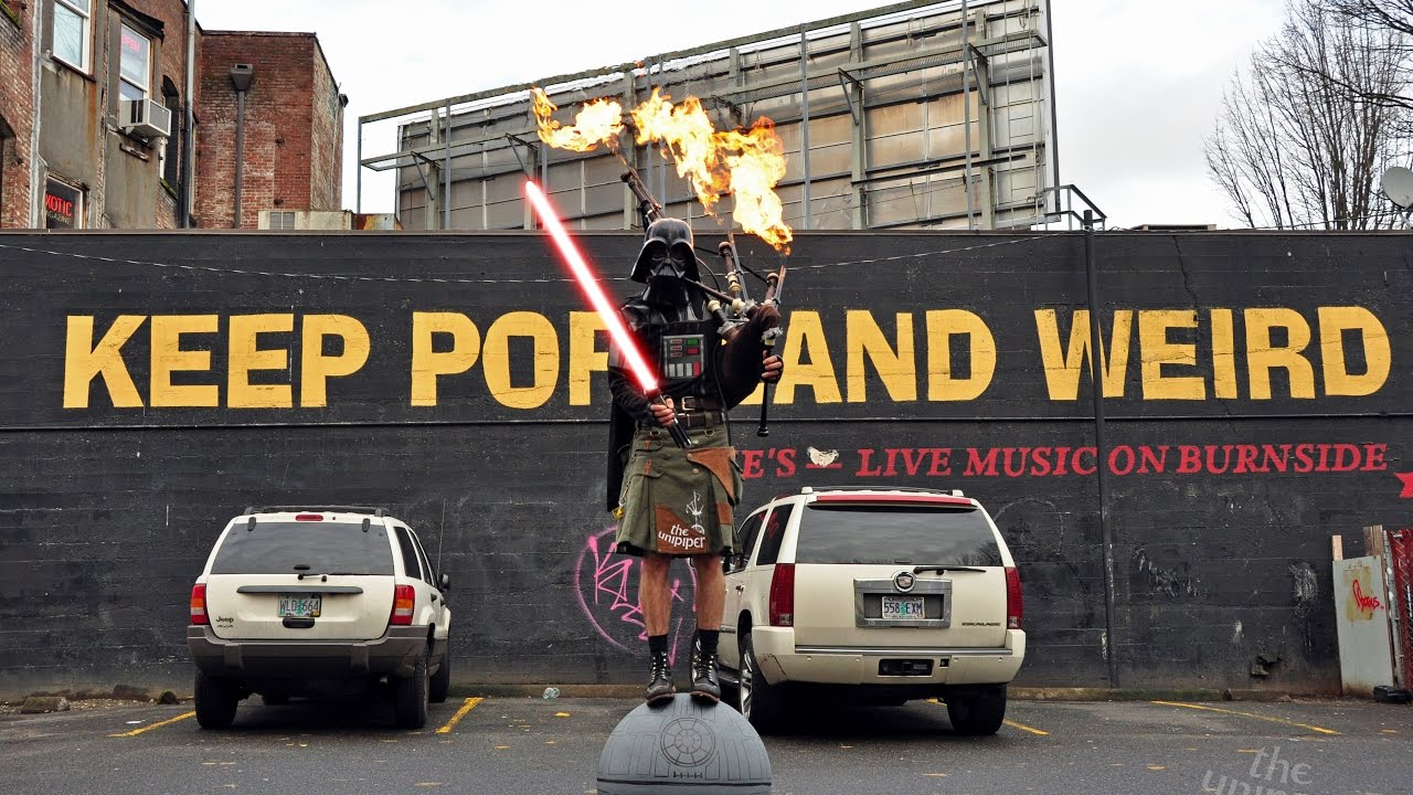 Keep Portland Weird Darth Vader 5