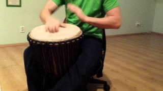 Samba rhythms on Djembe? - Krzysiek Wawrzyniak