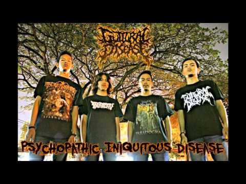 Guttural Disease - Psychopathic Iniquitous Disease (Indonesia)