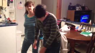 Dustin decker and mom dancing