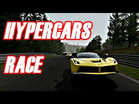 Intense Hypercars Race Nurburgring Assetto Corsa Gameplay