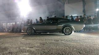 Eleanor Mustang Shelby GT 500 Vs Challenger SRT Hellcat Vs Shelby GT 500 | Autódromo Culiacán