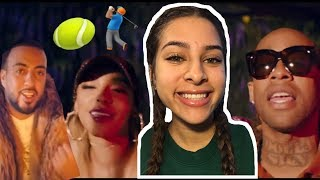 TINASHE - ME SO BAD (OFFICIAL MUSIC VIDEO) ft. TY DOLLA $IGN, FRENCH MONTANA REACTION / REVIEW 🎾