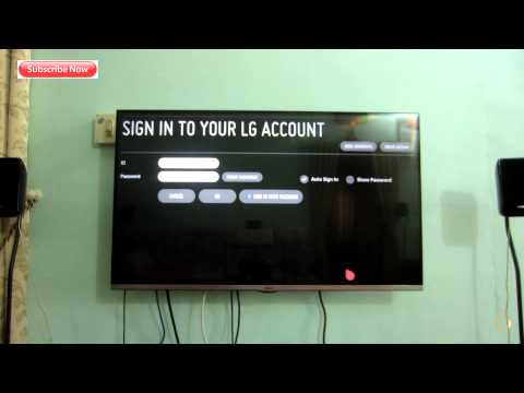 How to Switch Location and Get  LG WebOs New Apps - 3D led Tv - LH -LF - India - 2017