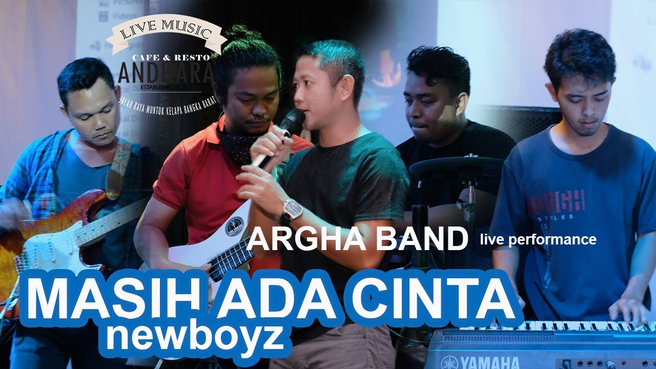Download Masih Ada Cinta -New Boyz ARGHA BAND (Live Performance)