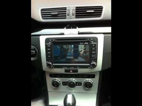 volkswagen passat dashboard   car radio  trendsboutique youtube