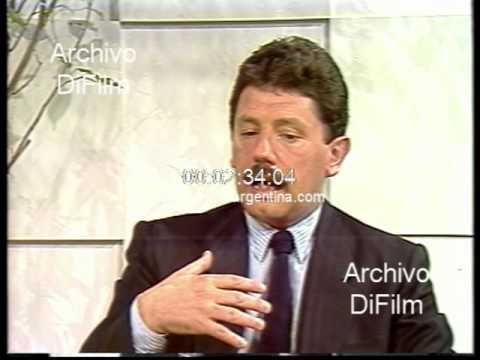 DiFilm - Adrian Freijo Director LU6 Radio Atlantica Mar del Plata 1989