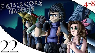 Let's Play Crisis Core: Final Fantasy VII (Part 22) [4-8Live]