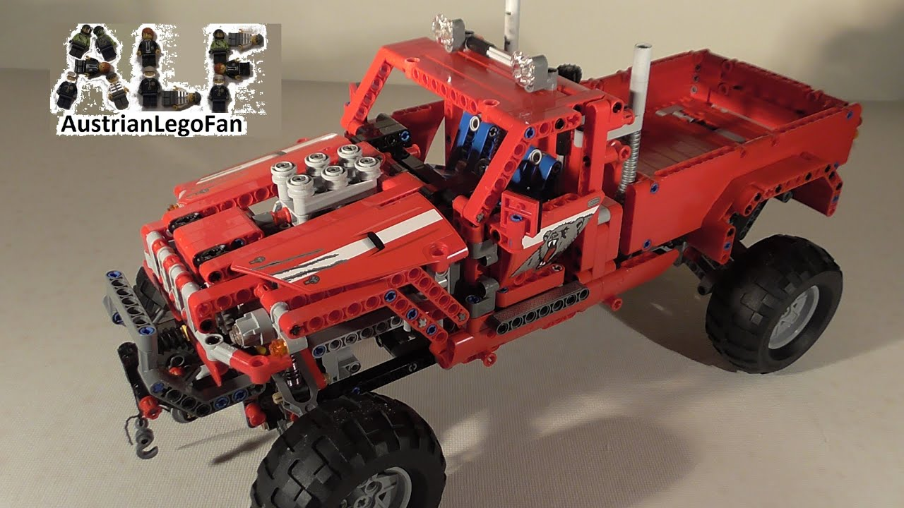 Lego Technic Pick Up : lego technic 42029 pick up truck lego speed build review ~ Jslefanu.com Haus und Dekorationen
