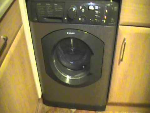 Hotpoint Wdf740 Washer Dryer Youtube