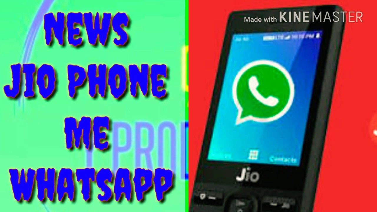 jio mobile me whatsapp chalega